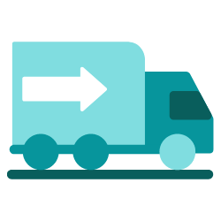 """How Small Courier Businesses Can Aid with the """"Last Mile"""" Problems - trucks and autos - icon"""