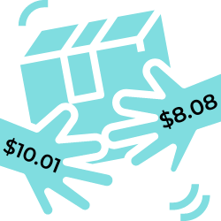 """The last mile is such a pressing issue for companies because """"last mile deliveries are eroding profits as organizations typically charge less than what it costs them to fulfill the orders."""" The average cost of last mile delivery is $10.01; however, customers only pay an average of $8.08.  - statistic icon"""