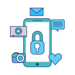 additional benefits - privacy - icon
